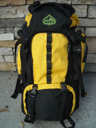 aspen backpacks, outdoor backpacks, backpacking, hiking equiptment